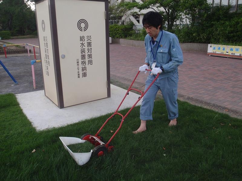 久本小学校 貯水タンク上